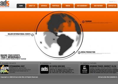 AdSuria Website