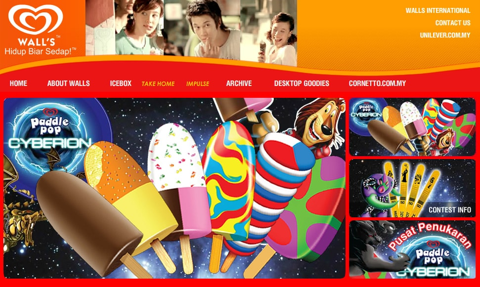 Wall's Malaysia (Website)