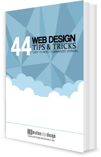 Free Ebook - 44 Web Design Tips & Tricks