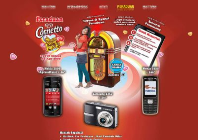 Cornetto – Show Your Love (Website)