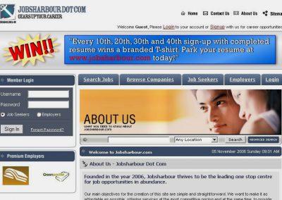 Jobs Harbour (Website)
