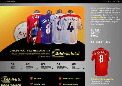 Matchshirts LTD (Website)