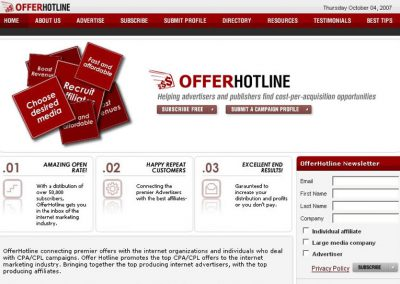 OfferHotLine (Website)
