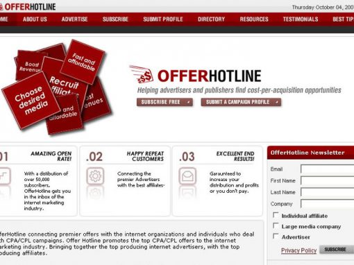 OfferHotLine (Website)