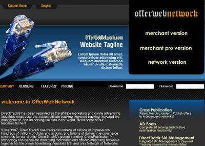 Offer Web Network (Mockup)