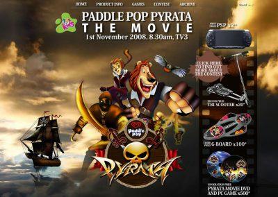 Paddle Pop Pyrata (Flash Website)