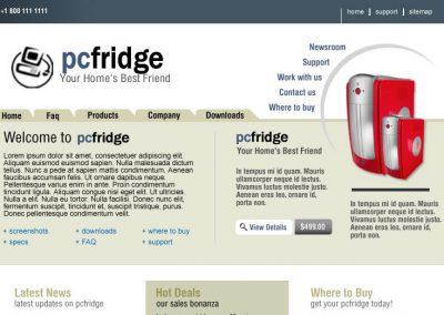 PC Fridge (Mockup)