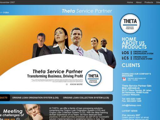 Theta Service Partner (Mockup)