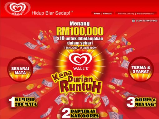 Wall's Durian Runtuh (Website)