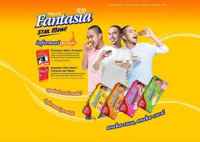 Wall's Fantasia (Website)