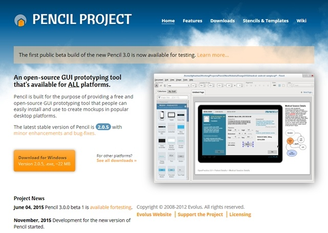 Click here to visit site Pencil Project
