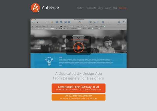 Click here to visit site AnteType