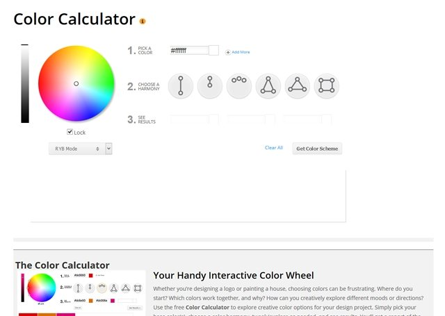 Click here to visit Color Calculator